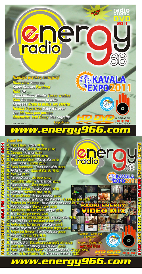 Radio Energy 96.6 Fm Promo DVD 2012 Video Mix